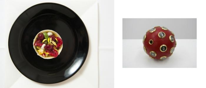 dessert rouge