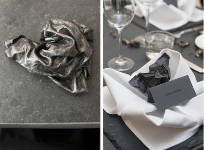 montage serviette menu